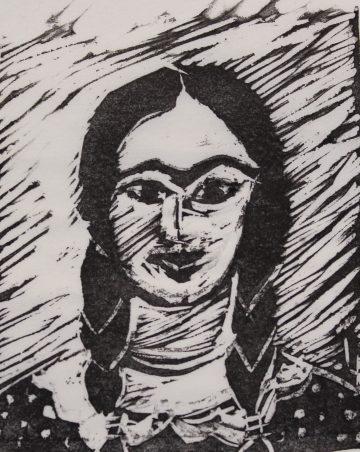Louis Brien - La fille de Frida Kahlo