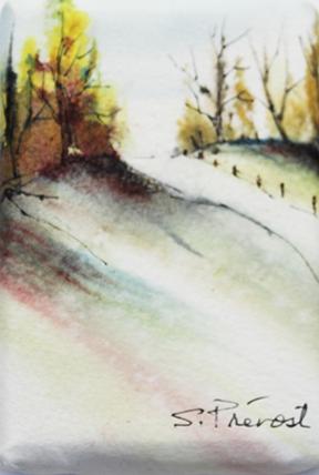 Suzanne Prévost - Magie d'automne