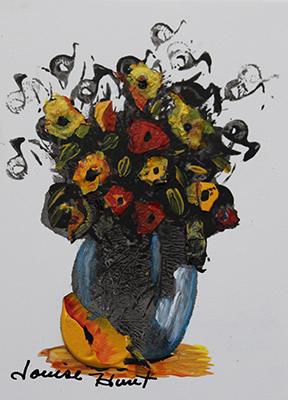 Louise Hunt - Le Bouquet de fleur