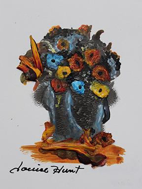 Louise Hunt - La Chaudière fleurie