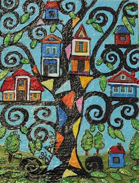 Ginette Ash - Je me blottis dans une de ces petites maisons