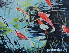 Élaine Archambault - L'étang