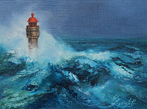 Pauline Lysight - Phare en Bretagne