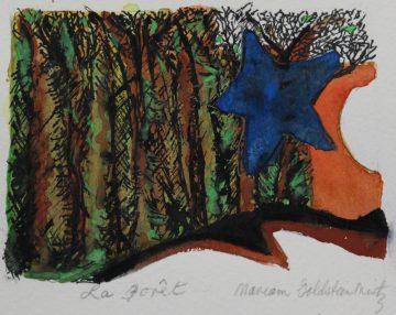 Mariam Goldstein Mintz - La foret