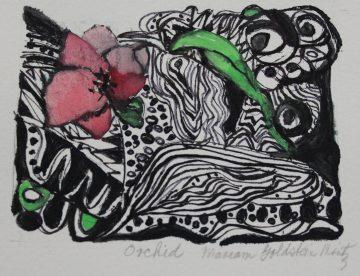 Mariam Goldstein Mintz - Orchid