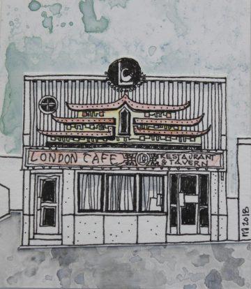 Nicola Alexander - London Cafe