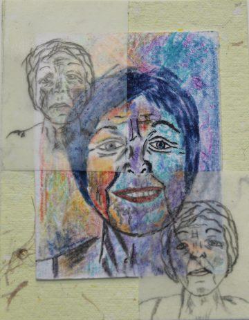 Johanne Perreault - Autoportrait de l'Alzheimer